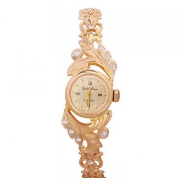 Золотые часы женские 227