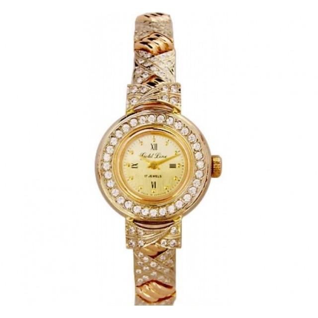 Золотые часы женские 349а
