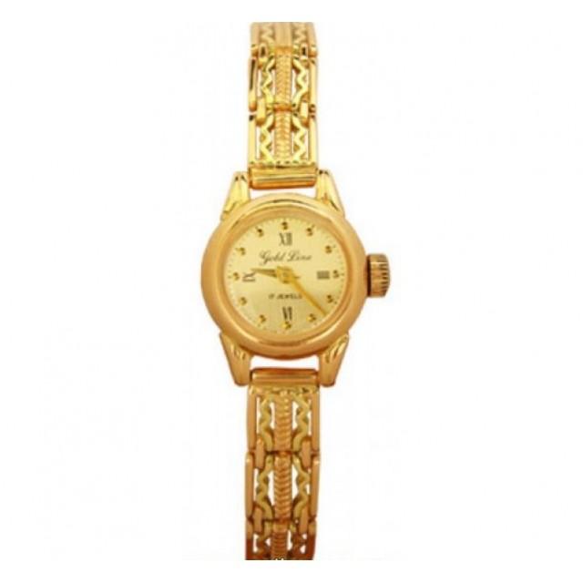 Золотые часы женские 408