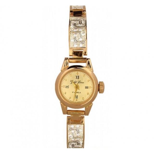 Золотые часы женские 408-660