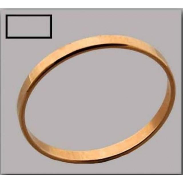 Золотое обручальное кольцо Американка 4150515
