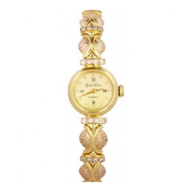 Золотые часы женские 478