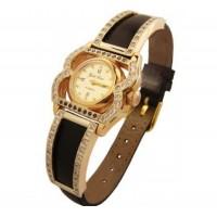Золотые женские часы 574
