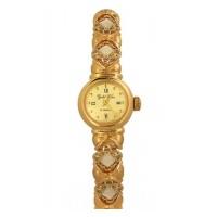 Золотые часы женские 583а