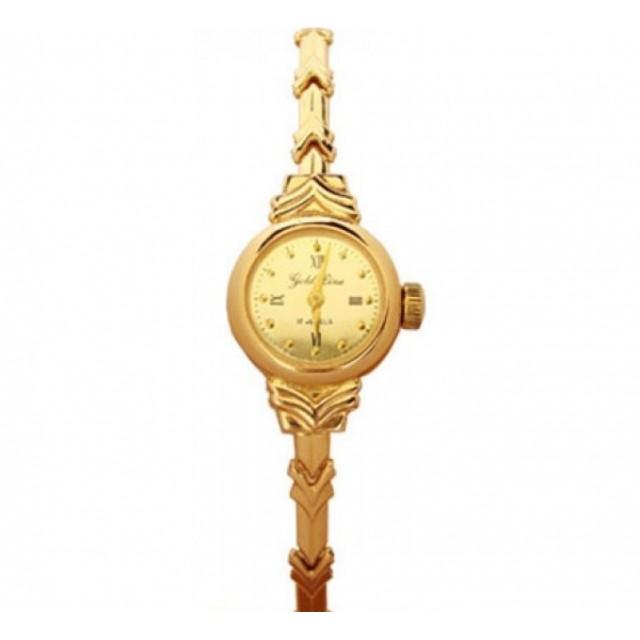Золотые часы женские 682