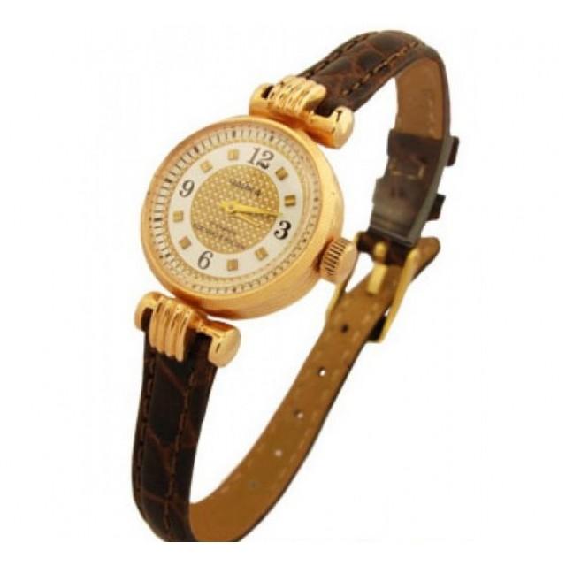 Золотые часы женские 724