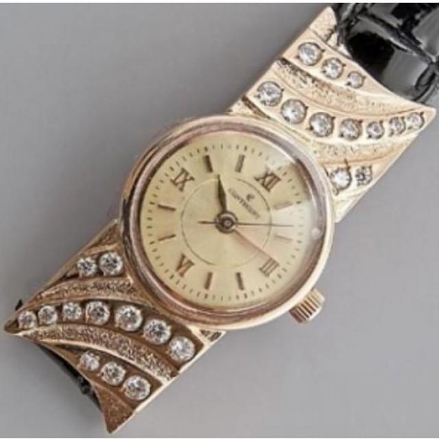 Золотые часы женские 80РК