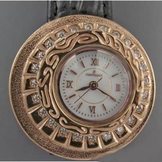 Золотые часы женские 84 РК