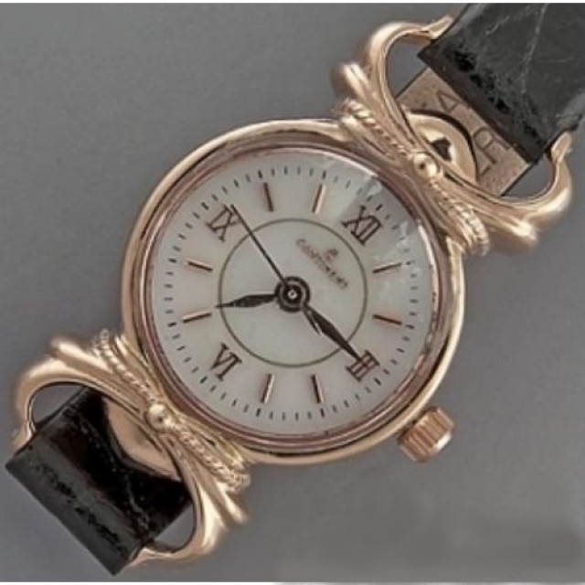Золотые часы женские 86РК