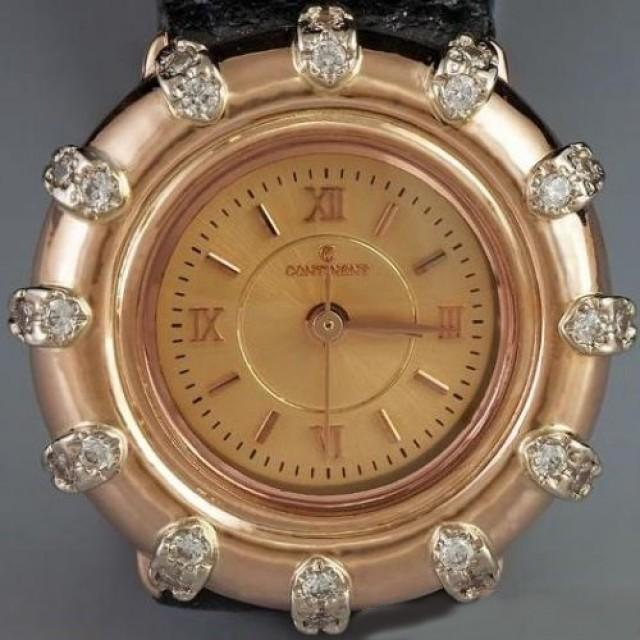 Золотые часы женские 87РК