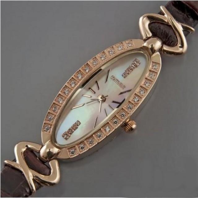 Золотые часы женские 96/17РК