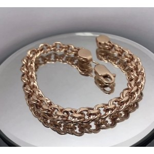 Золотой браслет Бисмарк фото