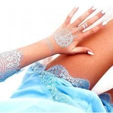Свадебные наклейки на тело для невесты