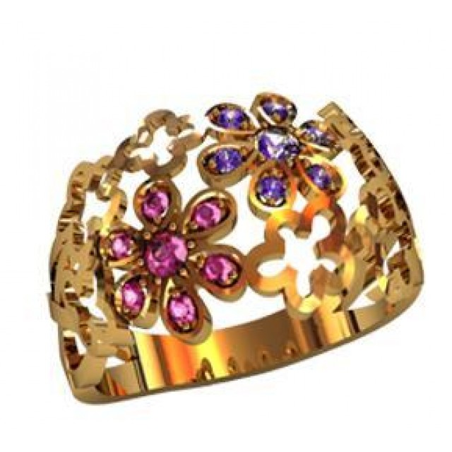 Золотое кольцо 000760