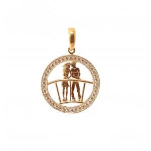 Золотой кулон 1051520