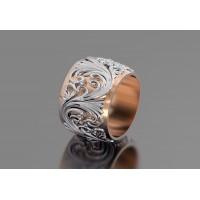 Золотое кольцо обручальное 415114