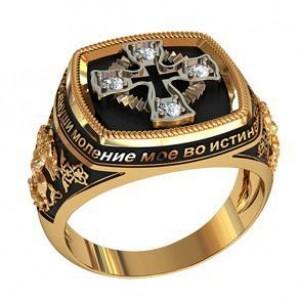 Золотая печать мужская 700530 ювмод