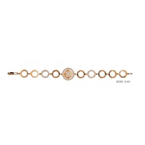 Золотой браслет Булгари