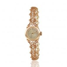 Золотые женские часы: быть в одном потоке с динамичным течением времени