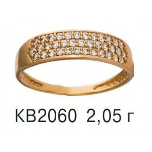 Золотое обручальное кольцо КВ 2060