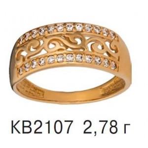 Золотое кольцо КВ 2107