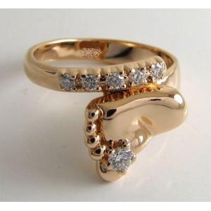Золотое кольцо ножка 15151001