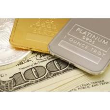 Платина и золото: разница в цене и других показателях