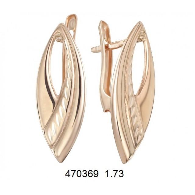 Золотые серьги 470369