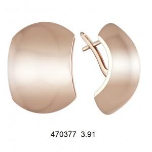 Золотые серьги 470377