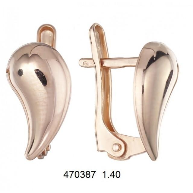 Золотые серьги 470387
