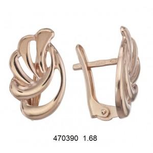 Золотые серьги 470390
