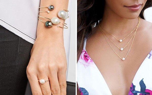 как носить браслет колье и кольцо