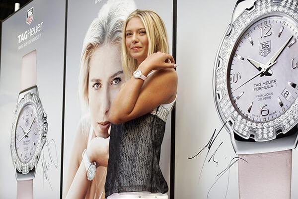 какие часы носит мария шарапова