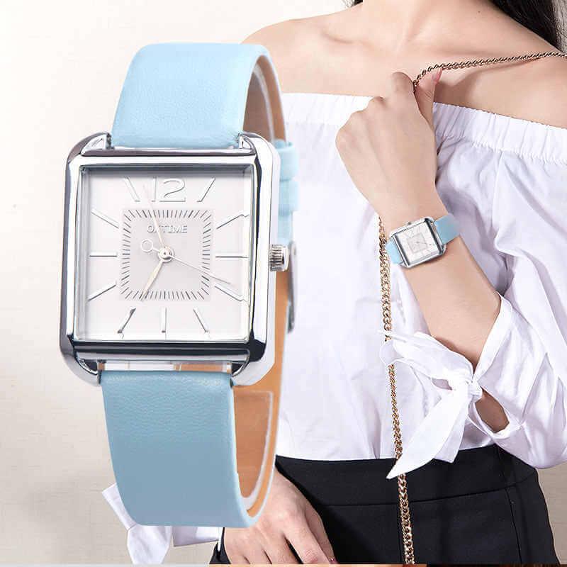 женские модные часы классика