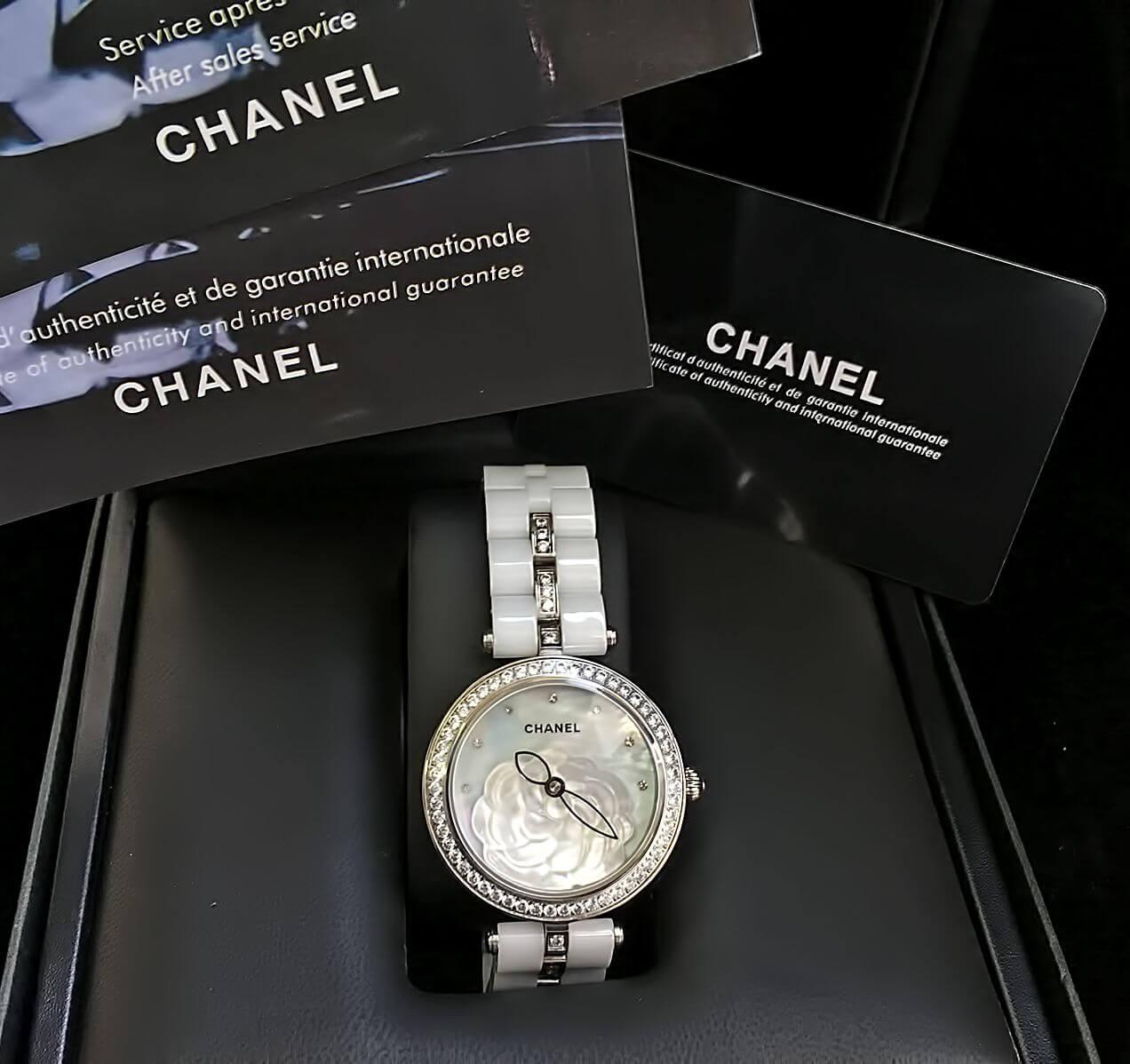 женские модные часы шанель